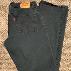Bootcut Black Vintage Levi Jeans